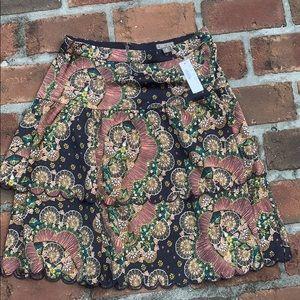 NWT Jcrew point sur skirt size 4